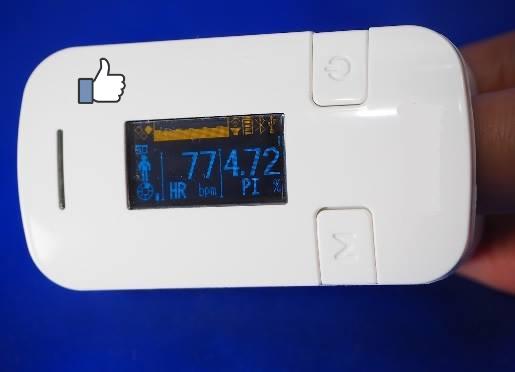 新製品の自律神経測定器